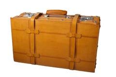 Leather Suitcase Stock Image