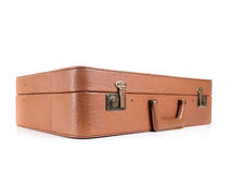 Leather suitcase Royalty Free Stock Photos