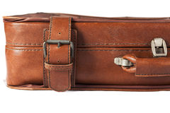 Leather Suitcase Closeup Royalty Free Stock Image