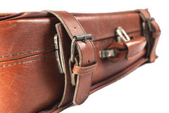 Leather Suitcase Stock Photography