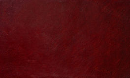 Leather Surface. Fragment of brown leather background Royalty Free Stock Photography