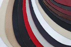 Leather swatch Royalty Free Stock Photos