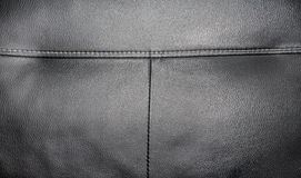 Leather textile. Close up of leather textured textile Royalty Free Stock Photography