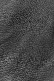 Leather texture. Abstract closeup of black leather texture royalty free stock photography