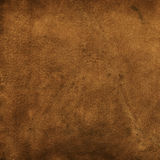 Leather texture. Brown soft leather texture background stock image