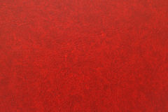 Leather texture. Natural qualitative red leather texture. Close up stock photo