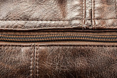 Leather texture. Stock Image