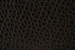 Leather Texture. A very sharp and detailed black leather texture Stock Images