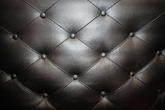 Leather texture armchair furniture modern design Royalty Free Stock Photography