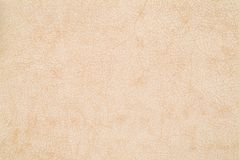 Leather texture background. Beige fine leather texture background sample Royalty Free Stock Photos
