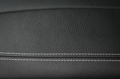 Leather texture background. Car interior. Leather texture background. Modern business car interior detail Royalty Free Stock Images