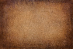 Leather texture background. Old vintage brown leather texture closeup can be used as background royalty free stock image