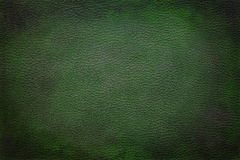 Leather texture background. Old vintage green leather texture closeup can be used as background Royalty Free Stock Image