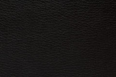 Leather texture on a black background Royalty Free Stock Image