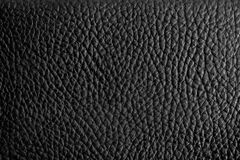 Leather texture. Black leather texture for background stock photos