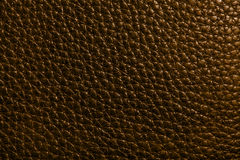 Leather texture in brown color Stock Image