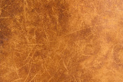 Leather Texture. Close up of an ancient leather texture royalty free stock photos