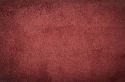 Leather texture. Close up of red leather texture Stock Images