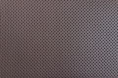 Leather texture. Closeup of leather texture, car seat surface royalty free stock images
