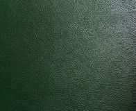 Leather texture. Green leather texture,close up Stock Image
