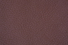 Leather texture. Natural brown leather  texture closeup Stock Photography