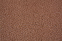 Leather texture. Natural brown leather  texture closeup Royalty Free Stock Image