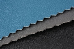 Leather texture. Natural leather stack texture closeup Royalty Free Stock Photography