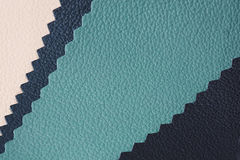 Leather texture. Natural leather stack texture closeup Royalty Free Stock Photos