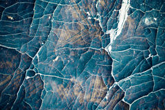 Leather texture. Old cracked leather closeup texture Royalty Free Stock Image