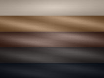 Leather texture palette Stock Image
