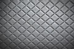 Leather texture with seam background.  stock images