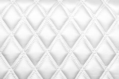 Leather texture White color Stock Images