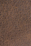Leather textured background. Closeup brown leather textured background Stock Image