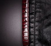 Leather textured background Royalty Free Stock Photo