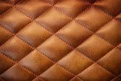 Leather textured background. Background image filling the frame with  a leather texture pattern Royalty Free Stock Image