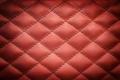 Leather textured background. Background image filling the frame with  a leather texture pattern Stock Images