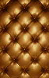 Leather upholstery. Sofa, chair or wall Royalty Free Stock Images