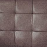 Leather upholstery. Close up leather upholstery background Stock Photo