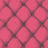 Leather upholstery Royalty Free Stock Image