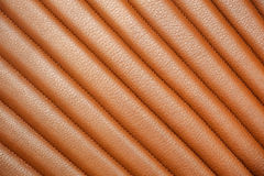 Leather upholstery Royalty Free Stock Images