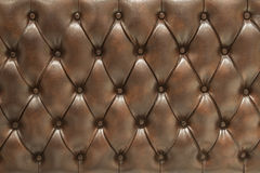 Leather upholstery background Stock Photos