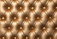 Leather upholstery luxurious furniture. Royalty Free Stock Image
