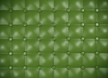 Leather upholstery pattern. Green leather upholstery pattern. 3D rendered image Stock Photo