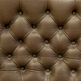 Leather upholstery texture of the old couch Royalty Free Stock Images