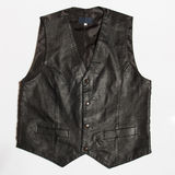 Leather vest Stock Image