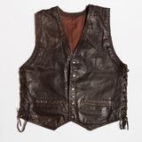 Leather vest Stock Images