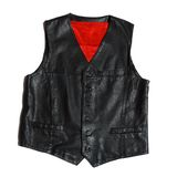 Leather vest Royalty Free Stock Photos