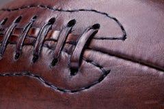 Leather vintage football Stock Photo