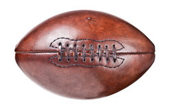 Leather vintage football Stock Photography