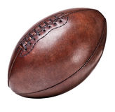 Leather vintage football Stock Images
